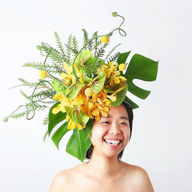 HANANINGEN 花人間 m-florist 稲葉紀代